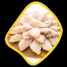 بال ساده مرغ زی خوراک