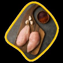 سینه شنیسلی بدون بازو مرغ زی خوراک