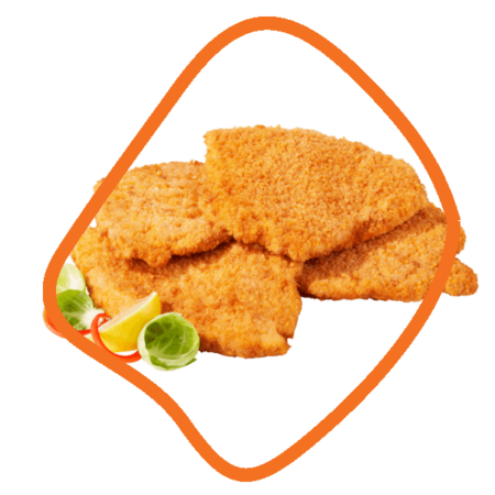 سینه شنیسلی مرغ