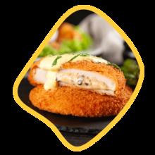 ناگت مرغ و پنیر ۴۵۰ گرمی زی خوراک