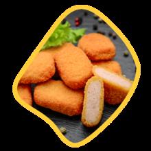 ناگت مرغ ۴۵۰ گرمی زی خوراک