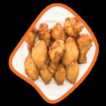 بال و بازوی مخصوص زعفرانی مرغ زی خوراک