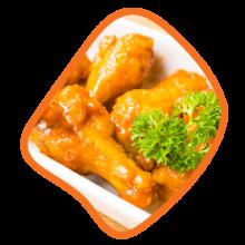 بازو زعفرانی مرغ زی خوراک