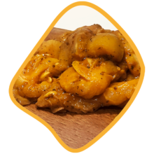 جوجه باربیکیو مرغ زی خوراک