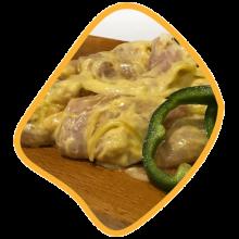 جوجه ران لاری مرغ زی خوراک