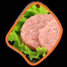 برگر مرغ و سبزیجات ۴۵۰ گرمی زی خوراک